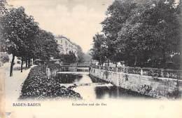DEUTSCHLAND Allemagne ( Bade Wurtenberg ) BADEN BADEN : Jaiserallee Und Die Oos - CPA - Germany - Baden-Baden