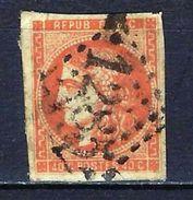 """FR YT 40 """" Cérès 40c. Orange """" GC 1285 DECIZE - 1870 Bordeaux Printing"""