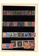 RUSSIE Collection Sur 17 Pages D'album Neufs**/* Ou Obl. Dont Blocs De 4 Et Non-dentelés, Voir Scan - Russie & URSS