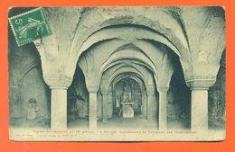 """CPA 88 Remiremont """" église Souterraine Du IX° Siècle """" LJCP 43 - Remiremont"""