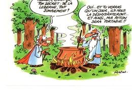 Carte Publicitaire Humoristique, FRAPAR, Aliment Nature, Agriculture, Luzerne Déshydratée, Potion Magique Astérix - Unclassified