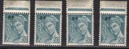 FRANCE 1944 - Y.T. N° 660 X 4  - NEUFs** /K1 - France