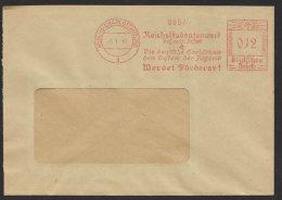 """""""Berlin- Charlottenburg"""", """"Reichsstudentenwerk"""", 1941, Dek. Und Seltener Stempel - Briefe U. Dokumente"""