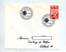 Lettre Cachet Mulhouse Anniversaire Posta - Marcophilie (Lettres)