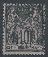 Lot N°37196   N°103, Oblit Cachet à Date à Déchiffrer - 1876-1878 Sage (Type I)