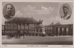 Familles Royales - Danmark - King Frederic VIII Queen Louise - Amalienborg Castle Copenhagen - Königshäuser