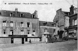 Saint énogat Dinard Ille Vilaine Hôtel Karvor Boutiques Animation 1920 état Superbe - France