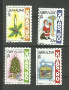 Gibraltar N°615 à 618 Neufs** Cote 5.25 Euros - Gibraltar