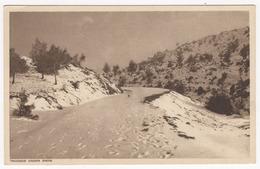 Troodos Onde Snow. - Chypre