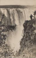 Afrique - Zambie Zimbabwe - Victoria Falls - A View Of The Mains Falls Near The Devil's Cataract - Zambie