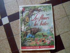 Album Publicitaire D Images A Collectionner  Presque Complet Collection Natura Les Fleurs Les Betes - Publicités