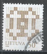 Lithuania 1997. Scott #582a (U) Double Barred Crosses - Lithuania