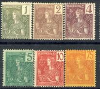 Indocina 1904-06 Sei Valori Della Serie 24-40 MH Cat. € 56 - Unused Stamps
