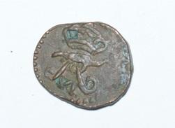 India- Danish . 4 Cash 1831 .copper - Inde