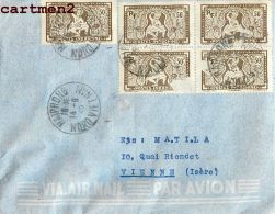 LETTRE INDOCHINE VIETNAM HAÏPHONG VIET-NAM - Covers & Documents
