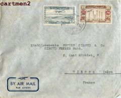LETTRE LIBAN MICHEL S. MAKHAT BEYROUTH SYRIE BEIRUT LEBANON STAMP TIMBRE LIBANAISE SYRIA DAMAS - Liban