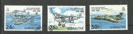 Gibraltar N°827, 828, 830 Cote 5 Euros - Gibraltar
