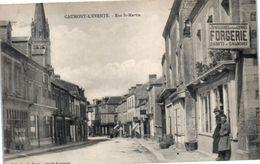 14 CAUMONT L'Eventé - Rue Saint Martin - Commerce Forgerie (pli Coin Inférieur Gauche) - France