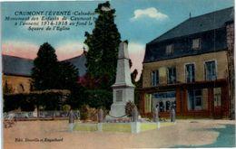 14 CAUMONT L'Eventé - Monument Des Enfants Tués Guerre 1914-18 (couleur) - Other Municipalities