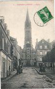 14 CAUMONT L'Eventé - L'église (pli Coin Supérieur Droit) - France
