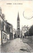 14 CAUMONT L'Eventé - L'église (pli Coin Supérieur Droit) - Other Municipalities