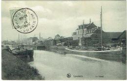 Louvain. Le Canal. Péniche. - Leuven
