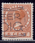 Netherlands, 1927, Wilhelmina, 6c, Sc#173, Used - Oblitérés