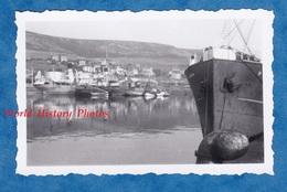 Photo Ancienne - FECAMP - Port - Bateau à Quai - Seine Maritime Normandie Boat Ship - Bateaux