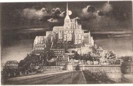 ---- 50  -----  LE MONT SAINT MICHEL  La Nuit - Neuve TTB - Le Mont Saint Michel