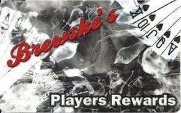 Brewske's - Las Vegas, NV - Casino Player Reward / Slot Card - Casino Cards