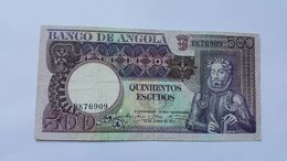 ANGOLA 500 ESCUDOS 1973 - Angola