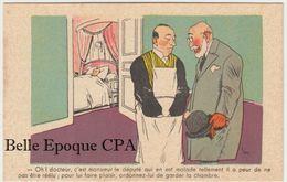 Politique / Illustration SIM - #326 - Député A Peur De Ne Pas être Réélu ; Ordonnez-lui De Garder La Chambre + Satirique - Satiriques
