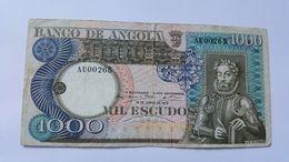 ANGOLA 1000 ESCUDOS 1973 - Angola