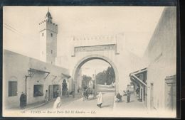 Tunis -- Rue Et Porte Bab El Khadra - Tunisie