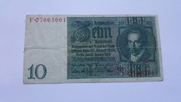 GERMANIA 10 MARK 1929 - [ 3] 1918-1933 : Weimar Republic