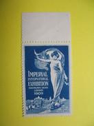 Vignette   Imperail  International Exhibition  Shepherds Bush London  1909 - Erinnophilie