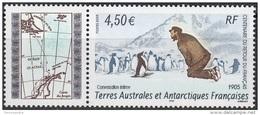 TAAF 2005 Yvert 416 Neuf ** Cote (2015) 18.00 Euro Conversation Entre Charcot Et Un Manchot - Terres Australes Et Antarctiques Françaises (TAAF)