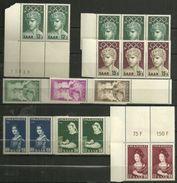 Saarland,  Nr. 371-78,  Postfrisch - 1947-56 Protectorate