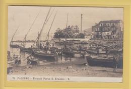 OLD PHOTO POSTCARD ITALY - ITALIA -  PALERMO - N.P.G. 71 PORTO S. ERASMO - Palermo