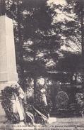 94. VILLIERS SUR MARNE . CPA. . MONUMENT SAXON ET TOMBES DES SOLDATS FRANÇAIS MORTS A LA BATAILLE DE VILLIERS - Villiers Sur Marne