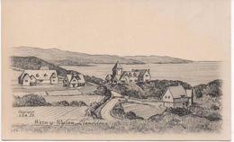 RAPHAEL TUCK & SON ART CARD - WERN-Y-WYLAN LLANDDONA - ANGLESEY - WALES - Anglesey