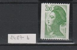 LOT 426 FRANCE N°2487c  ** - France