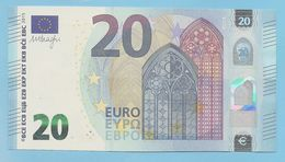 20 EURO U002I6 AVEC NUMEROTATION INVERSE UA801 - EURO