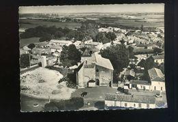 CPSM - 79 - Mauze Sur Le Mignon - L'église Et Le Bourg - Mauze Sur Le Mignon
