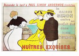 PUB  HUÎTRES EXQUISES - Publicité