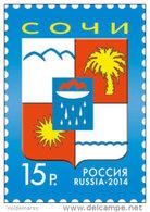 Russia 2014 Mih. 2099 Coat Of Arms Of Sochi MNH ** - 1992-.... Fédération