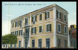 SÃO VICENTE - BANCOS - Banco Colonial E Agricola Portuguez De São Vicente C.V.  Carte Postale - Cap Vert