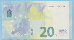 RARE U002F5 NUMEROTATION INVERSE / LOW NUMBER UB**000005* ! - EURO