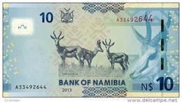 NAMIBIA P. 11b 10 D 2013 UNC - Namibie