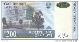 MALAWI P. 55a 200 K 2004 UNC - Malawi